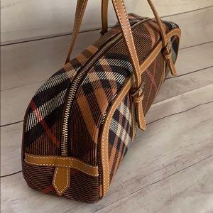 Burberry Bags - Burberry Blue label Nova Check Papillon Wool Bag